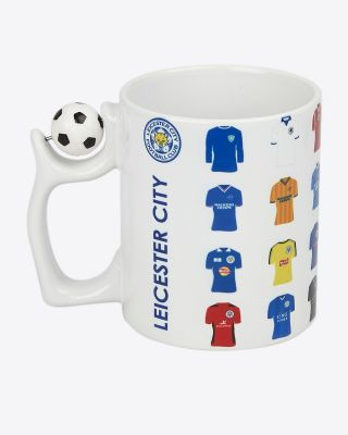 Leicester City Spinning Football Mug