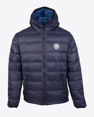 Leicester City Mens Navy Grisham Jacket