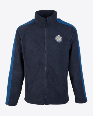 Leicester City Mens Navy/Blue Sazerac Fleece