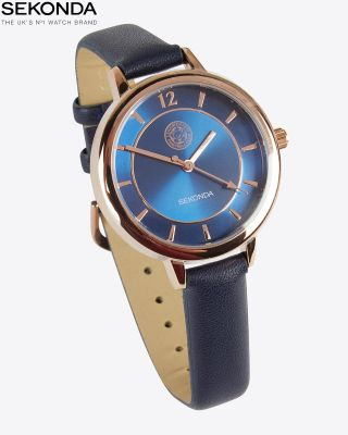 Leicester City Womens Navy/Gold Watch