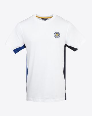 Leicester City Mens White Newbold T-Shirt