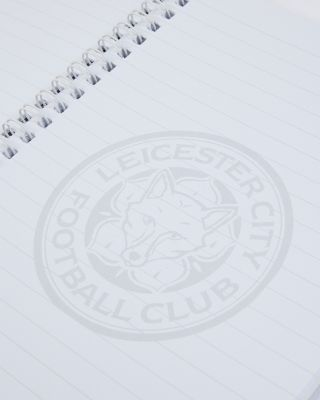 Leicester City Crest Notepad