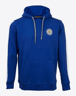 Leicester City Mens Blue Oadby Hoody