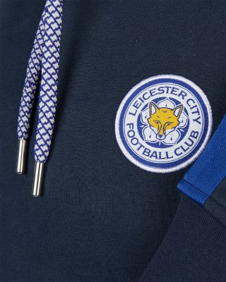 Leicester City Mens Navy Oadby Hoody