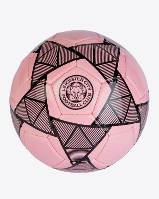 Leicester City Size 5 Pink Away Kit Football