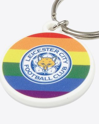 Leicester City Pride Keyring