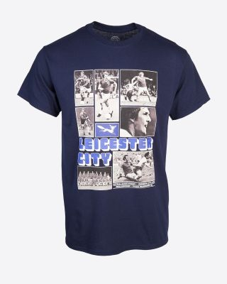Leicester City 1975 Programme Retro T-Shirt