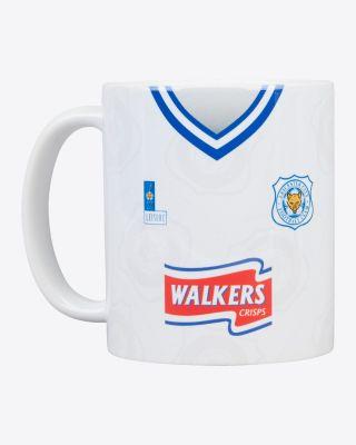 Leicester City Retro Mug - 1996/98 Away