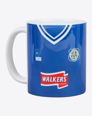 Leicester City Retro Mug - 1996/98 Home