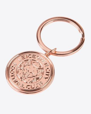 Leicester City Rose Keyring