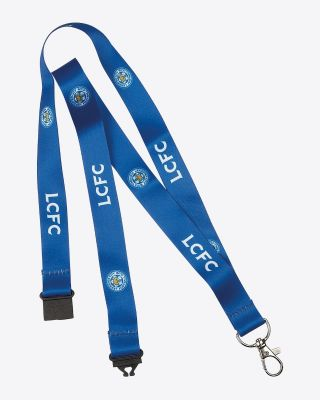 Leicester City Blue Crest Lanyard