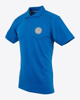 Leicester City Mens Royal Capsule Polo