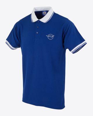 Leicester City Running Fox Polo - Blue