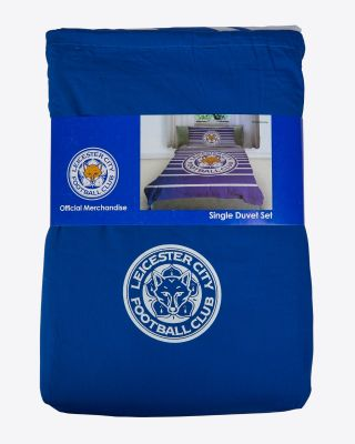 Leicester City Single Duvet Set