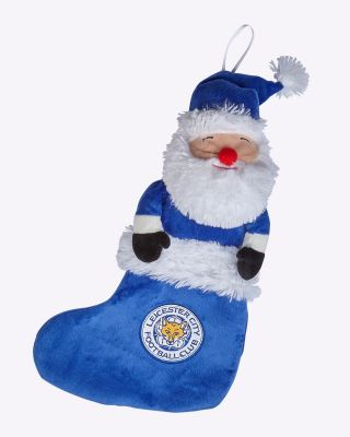 Leicester City Small Santa Stocking
