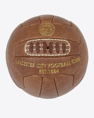Leicester City Retro Mini Football