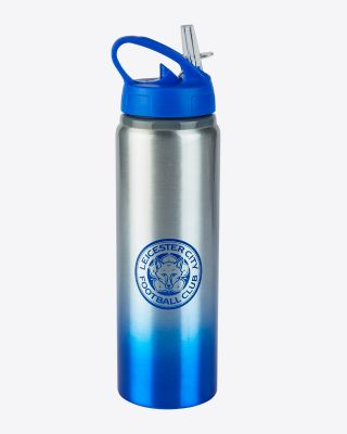 Leicester City Steel Ombre Water Bottle