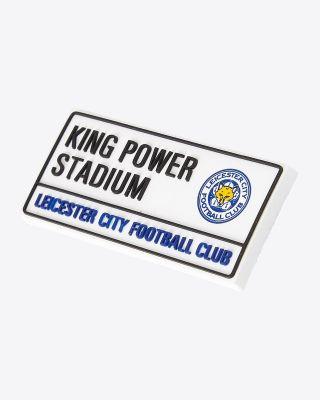Leicester City PVC Street Sign Fridge Magnet