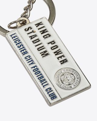 Leicester City Street Sign Keyring