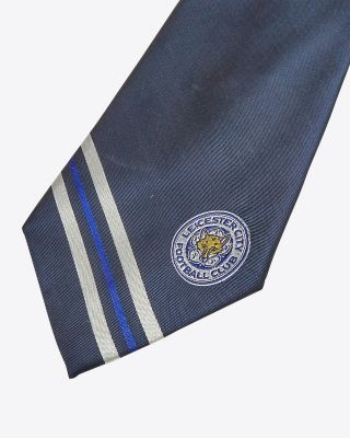 Leicester City Navy Tie