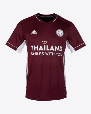 Kelechi Iheanacho - Leicester City Maroon Away Shirt 2020/21 - Kids