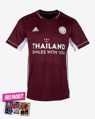 Leicester City Maroon Away Shirt 2020/21 - Kids