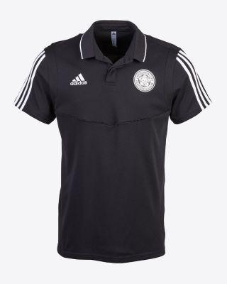 2019/20 adidas Leicester City Junior Black Polo