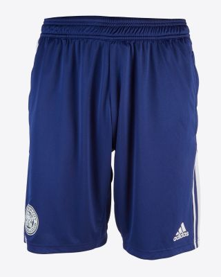 2019/20 adidas Leicester City Junior Navy Training Shorts