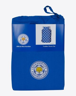 Leicester City Toddler Duvet Small Crest