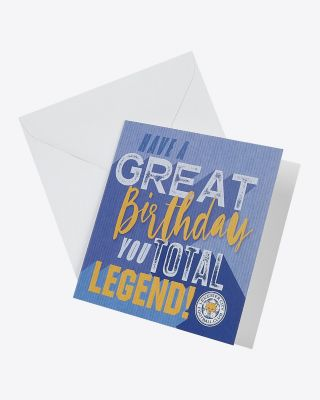 Leicester City Greetings Card - Assorted Designs - TOTAL LEGEND