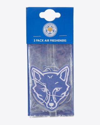 Leicester City Crest Air Freshener - 3 Pack