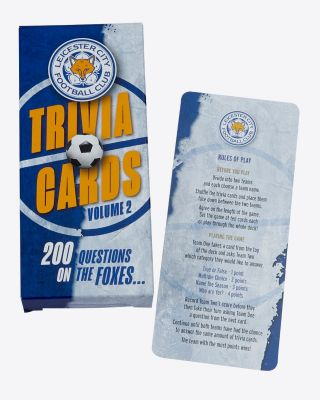Leicester City Trivia Cards - 2nd Edition