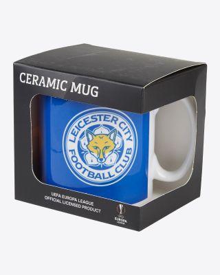 Leicester City UEL Crest Mug 2021/22