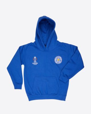 Leicester City UEL Royal Hoody 2021/22 - Kids