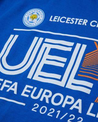 Leicester City UEL Royal T-Shirt 2021/22 - Kids