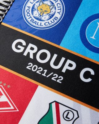 Leicester City UEL Group Stage Pennant 2021/22