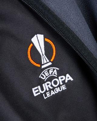 Leicester City UEL Black Zip Jacket 2021/22