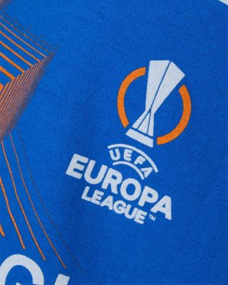 Leicester City UEL Royal T-Shirt 2021/22