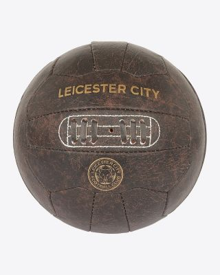 Leicester City Retro Style Football