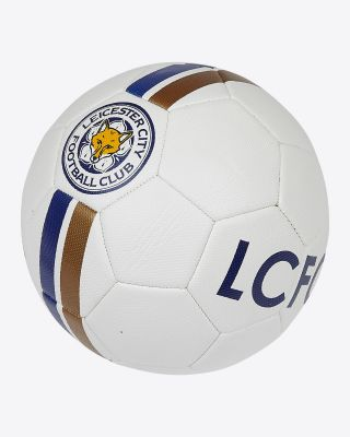Leicester City White Football - Size 4 - Size 4