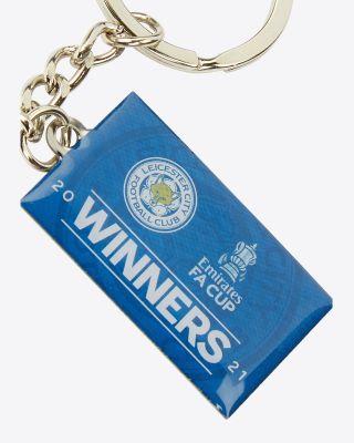 FA Cup Winners Keyring