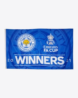 Leicester City FA Cup Winners Flag