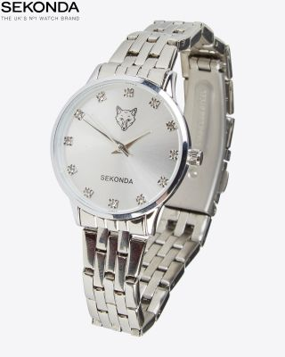 Leicester City Womens Silver Watch