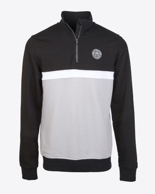 Leicester City Mens 1/4 Zip Sweatshirt