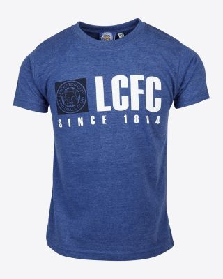 Leicester City Kids Blue LCFC T-Shirt