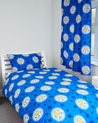 Leicester City Small Crests Single Duvet