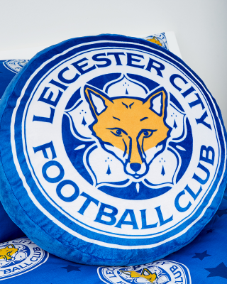 Leicester City Crest shaped Cushion