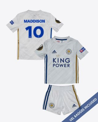 James Maddison - Leicester City Away Shirt 2020/21 - Mini Kit UEL