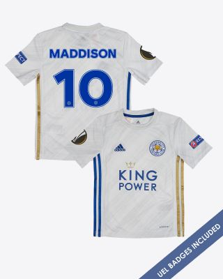 James Maddison - Leicester City Away Shirt 2020/21 - Kids UEL