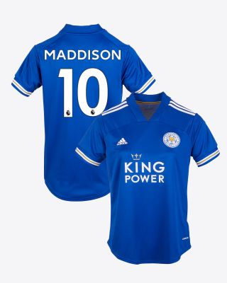 James Maddison - Leicester City King Power Home Shirt 2020/21 - Womens